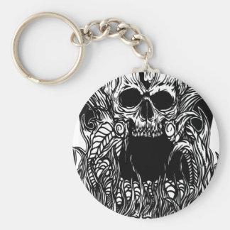 skulll mantle keychain