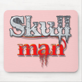 skullman mouse pad