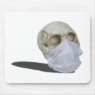 SkullMedicalMask051213.png Mouse Pad
