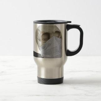 SkullMedicalMask051213.png Travel Mug