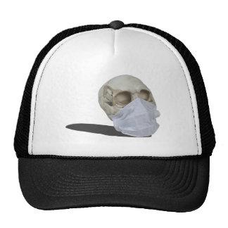 SkullMedicalMask051213.png Trucker Hat