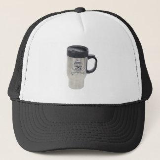 SkullMug062709 Trucker Hat