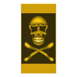 skullNcrossbones_Vector PIRATE SKULL CROSSBONES Card