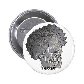 skullpin button