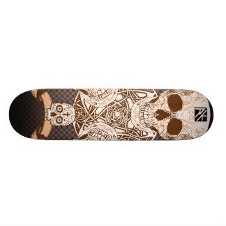 Skullpture Skateboard Deck