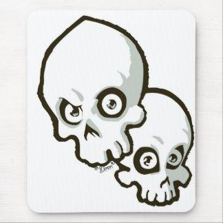 skulls2 alfombrilla de ratón