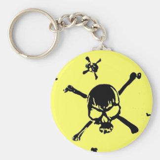 Skulls 2 key chain