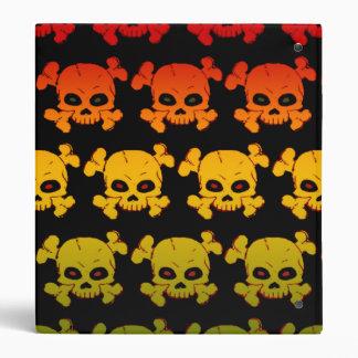 Skulls and Bones Binder