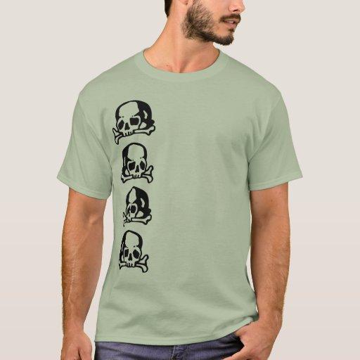 Skulls and Bones black T-Shirt