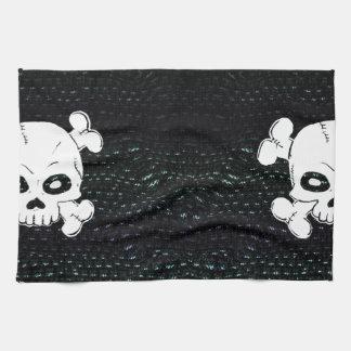 Skulls and Bones Catacomb Hand Towel