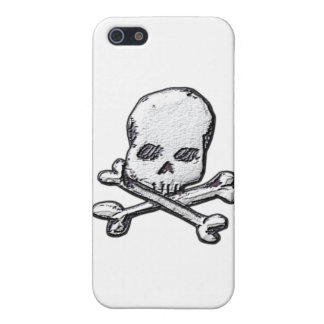 Skulls and Cross Bones Case For iPhone SE/5/5s