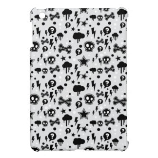 Skulls And Cross Bones Clouds Lighting Bolts Cover For The iPad Mini