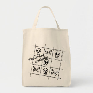 skulls and crossbones Bag