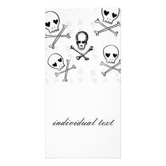 skulls and crossbones card