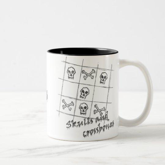 skulls and crossbones Mug