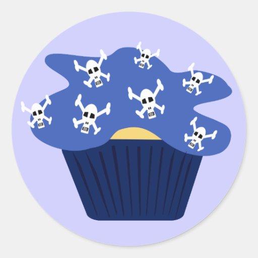 Skulls and Cupcakes Sticker