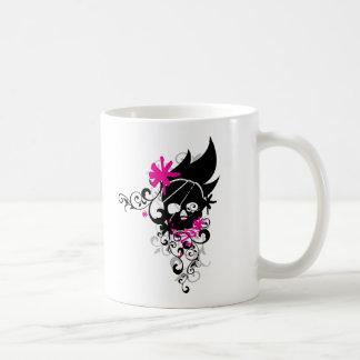 Skulls-and-Curls Coffee Mug