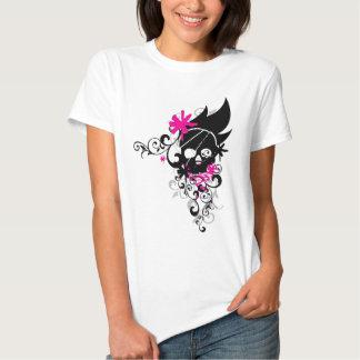 Skulls-and-Curls Tee Shirt