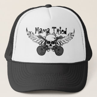 "Skulls and Guitars Hat ""Mama Tried"""