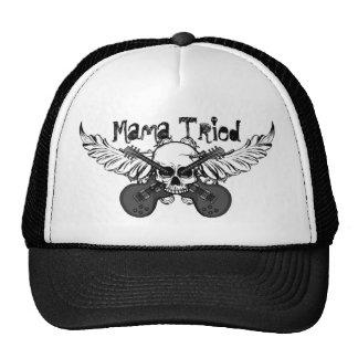 "Skulls and Guitars Hat ""Mama Tried"""