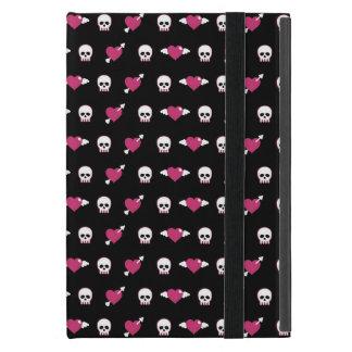 Skulls and hearts iPad mini covers