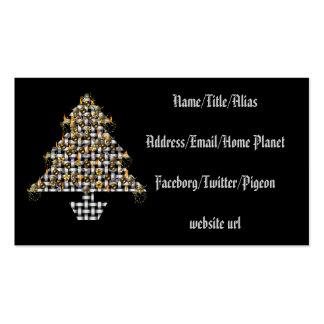 Skulls and Metal Tree Business Card