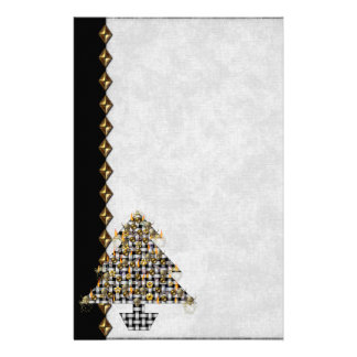 Skulls and Metal Tree Customized Stationery