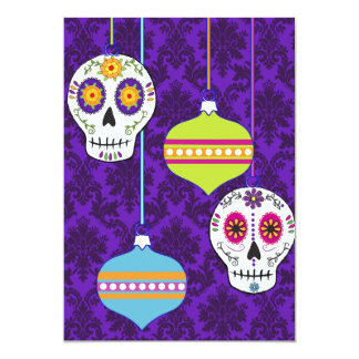 Skulls and Ornaments Invitation