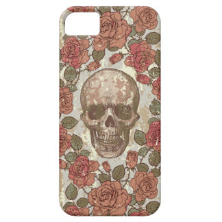 Skulls and Roses iPhone SE/5/5s Case