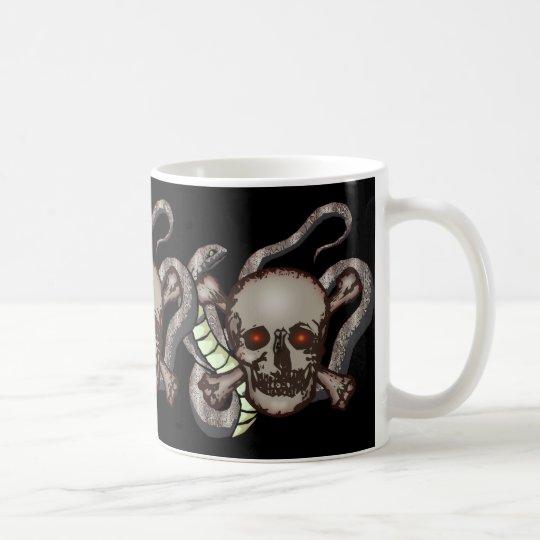 Skulls and Snakes Mug