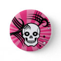 Skulls and Stars button