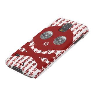 Skulls and Stripes Diamond Eyes Galaxy S5 Cases