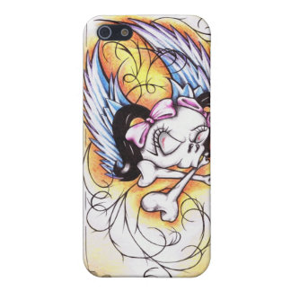 Skulls are for Sissies: Flying Fury IPhone Case