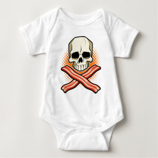 Skulls & Bacon Baby Bodysuit