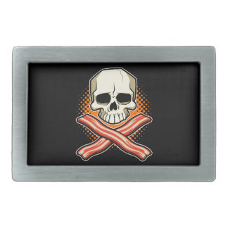 Skulls & Bacon Belt Buckle