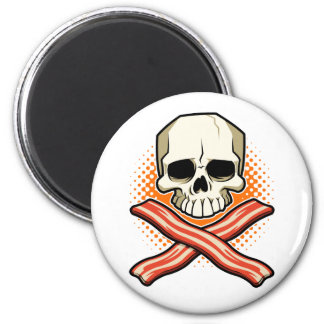 Skulls & Bacon Belt Magnet