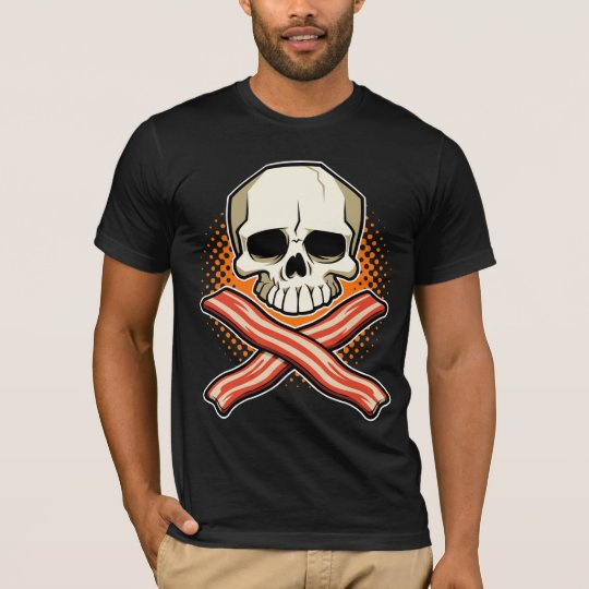 Skulls & Bacon Logo American Apparel T-Shirt