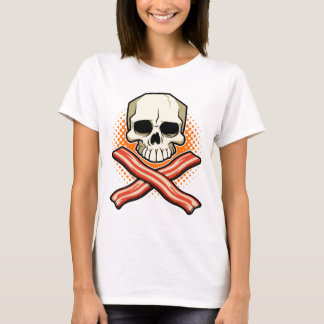 Skulls&Bacon Logo Ladies Tee