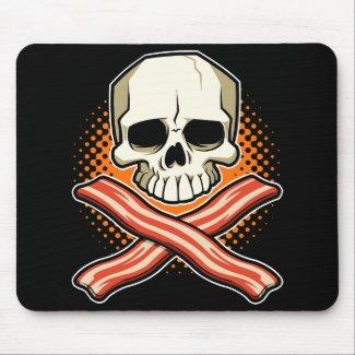 Skulls & Bacon Logo Mousepad mousepad
