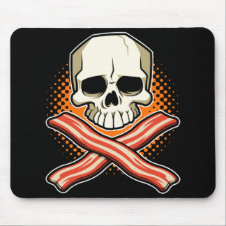 Skulls & Bacon Logo Mousepad