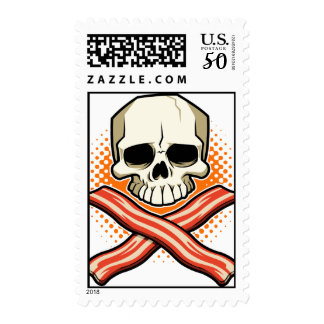 Skulls & Bacon Stamp