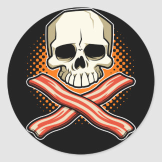 Skulls & Bacon Stickers