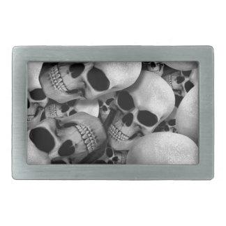 Skulls Belt Buckle