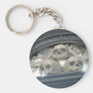 Skulls & Bones Pirate Skeleton Keychain