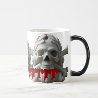 Skulls & Bones Pirate Skeleton Magic Mug