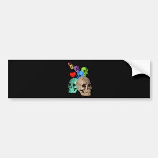 Skulls! Bumper Sticker
