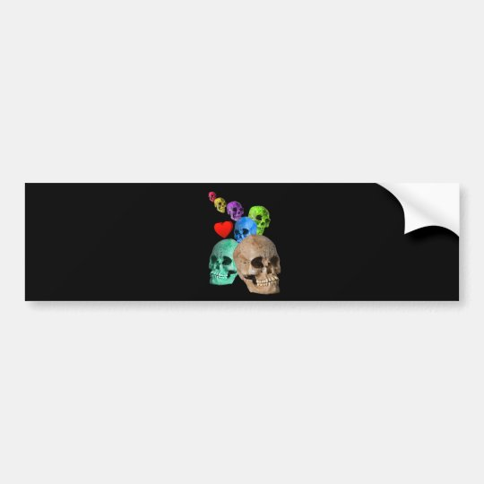 Skulls! Bumper Sticker