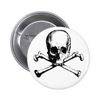 skulls button