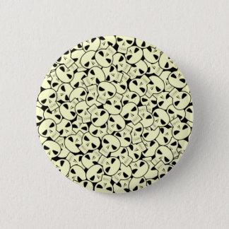 Skulls - Button