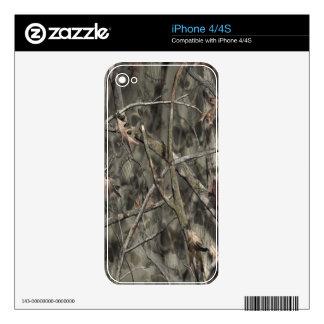 Skulls Camo II Skin Skins For iPhone 4
